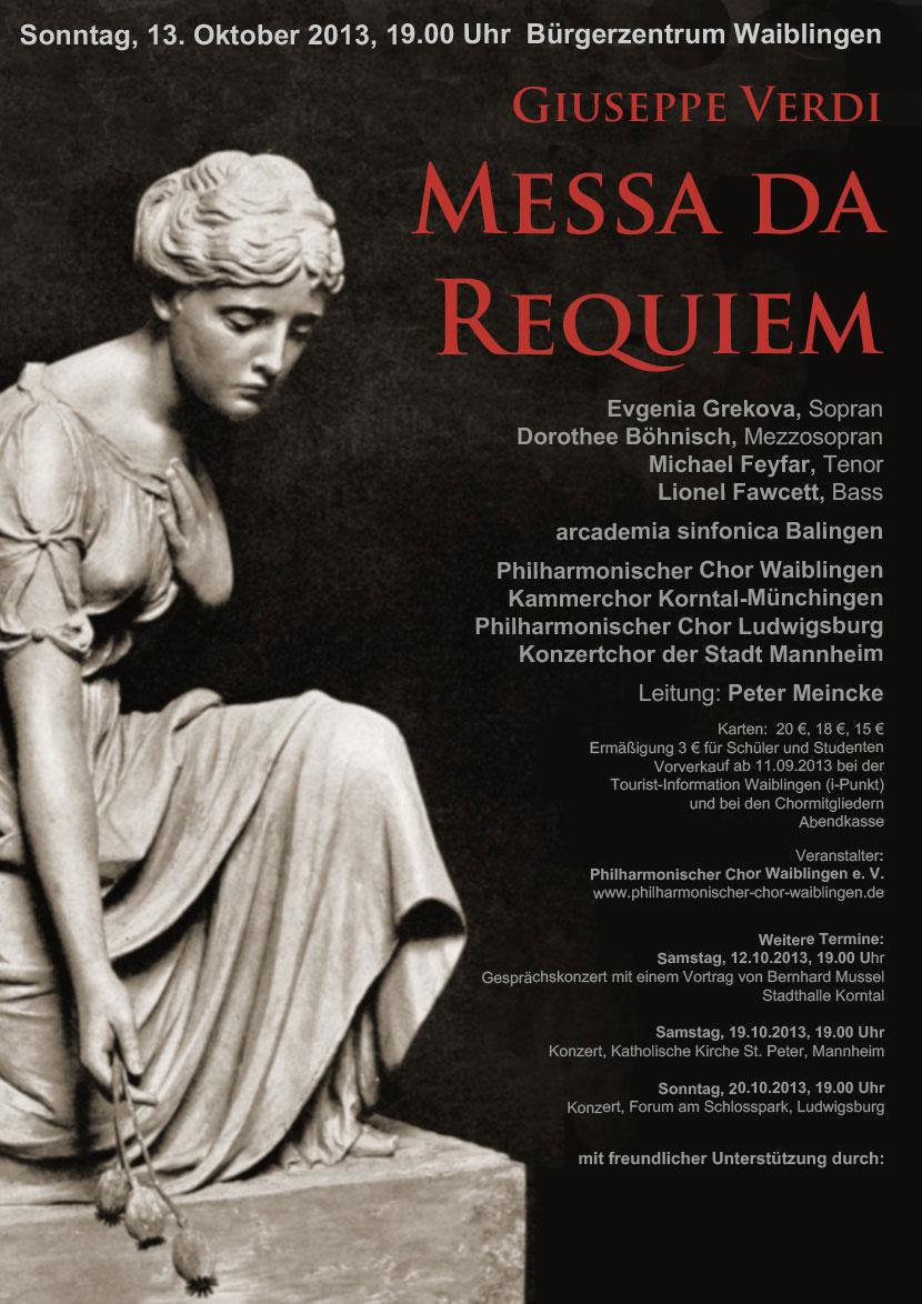 2013 – Verdi – Messa Da Requiem