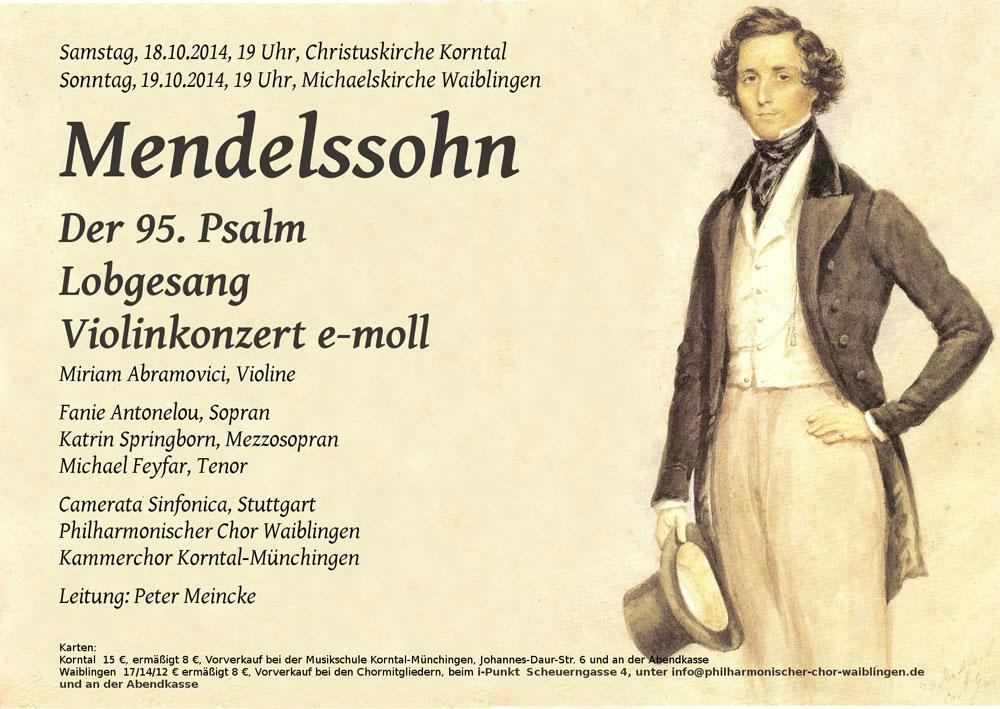 2014 – Mendelssohn