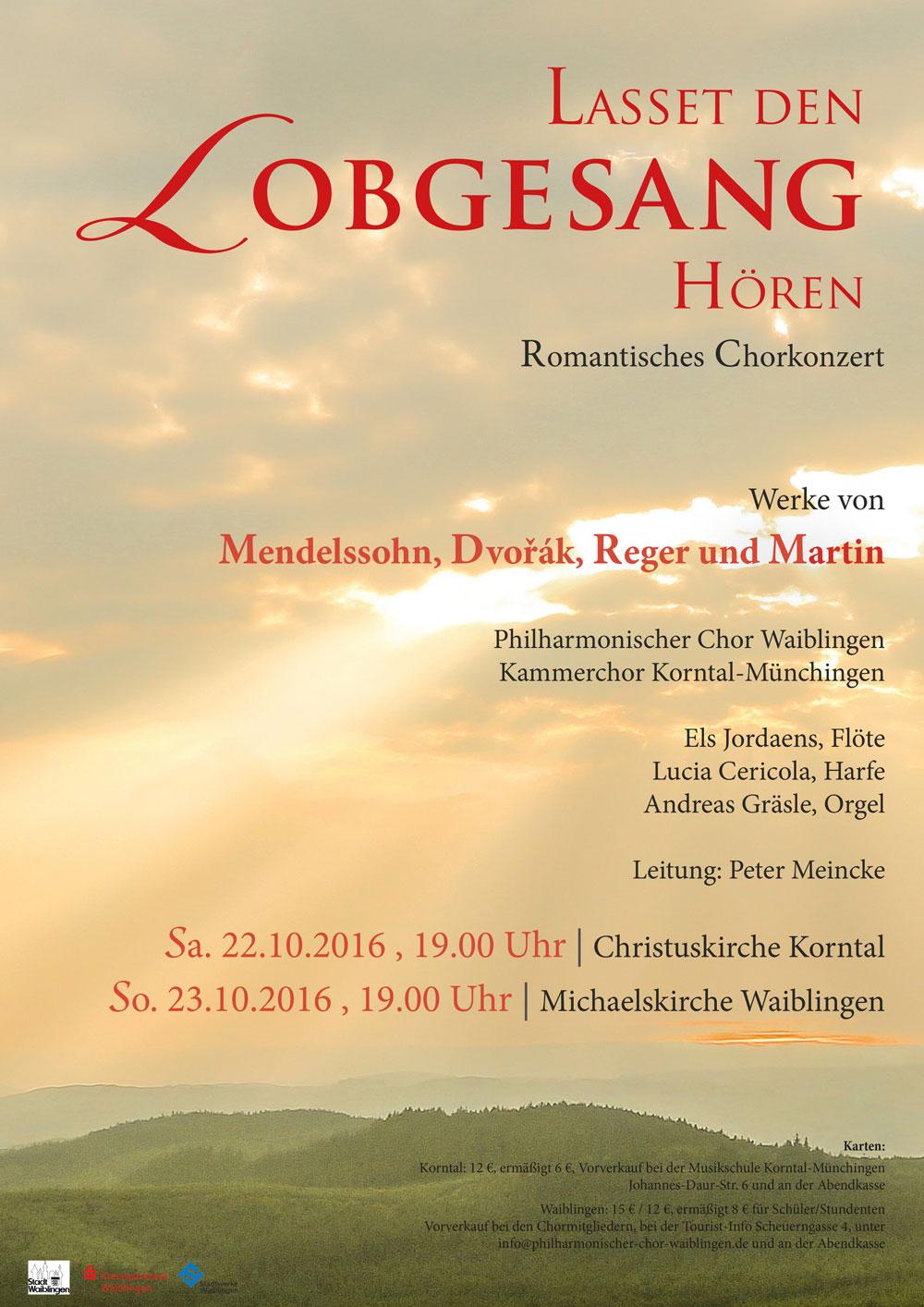 2016 – Romantisches Chorkonzert